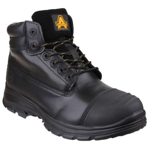 Amblers Safety FS301 Cordoba S3 Metatarsal Safety Footwear Black